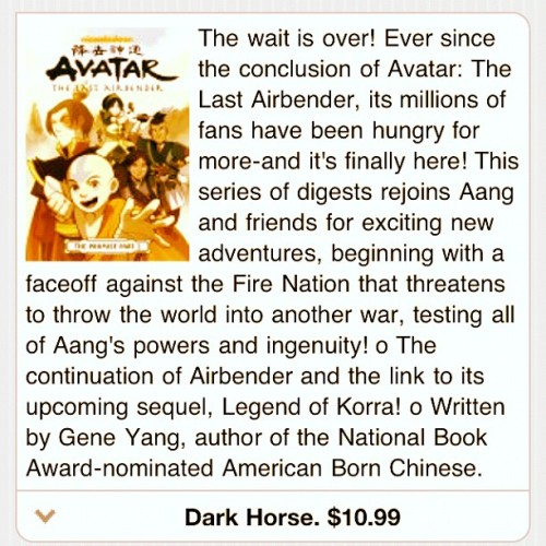 #Avatar #AvatarTheLastAirebender #TheLastAirbender #Comic #FireNation  (Taken with instagram)