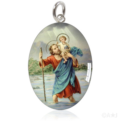 Saint Christopher Protect Us.