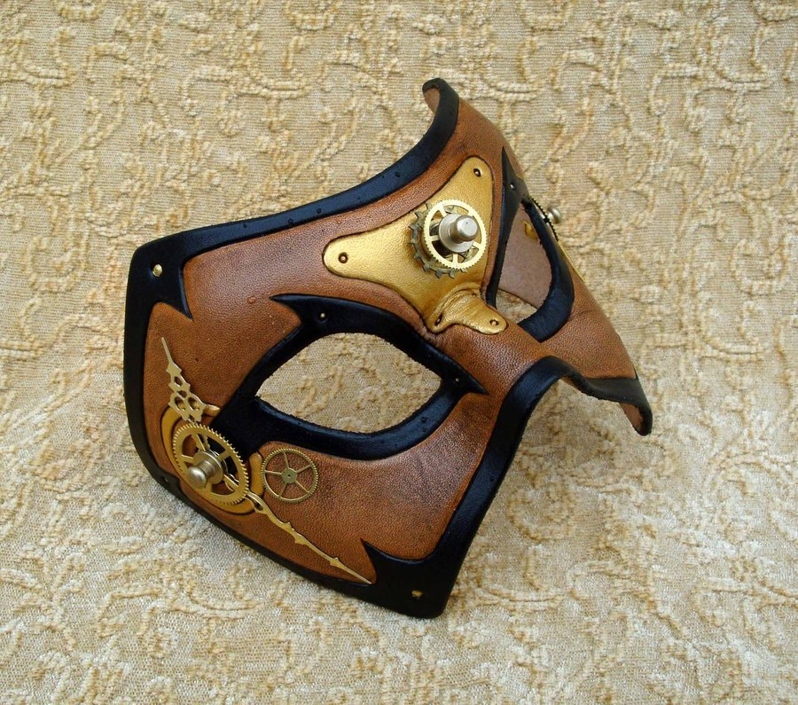 Awesome steampunk mask. :33