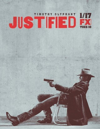 "djoreon:           I am watching Justified                   ""THE WAIT IS OVER…..YAY""                                            5108 others are also watching                       Justified on GetGlue.com"