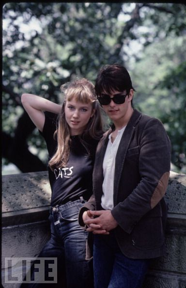 Tom Cruise & Rebecca De Mornay, 1983