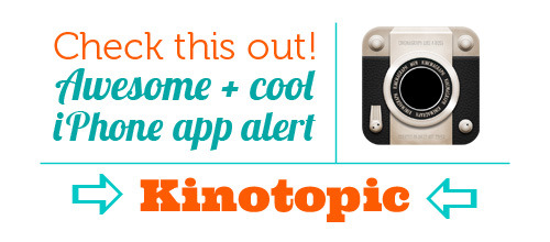 welovephoneography:  Hey iPhoneographers - the Kinotopic app is FREE today, January 18th! This app lets you make cinemagraphs easily, like the neat one we made above! Psst, don't have an iPhone but wanna try your hand at making cinemagraphs? Check out our tutorial on 'em!  It's a little wonky at times and takes some getting used to, but this app is great and FREE today! Snag it. (Woah! A wild tech post appears!)