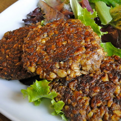 Tempeh Breakfast Sausage Patties
