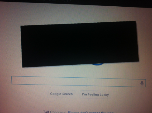 Censored google.