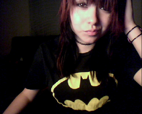 I FOUND MY BATMAN SHIRT.