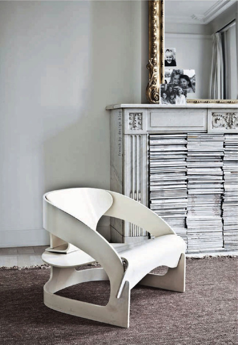 @redhousecanada This is the 4801 chair by Joe Colombo for Kartell redhousecanada:  Who designed this cool chair?   Gerrit Reitveld?