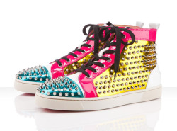 Today in… SHIT I NEED: These Christian Louboutin Spring/Summer 2012 Spiked Sneakers!!