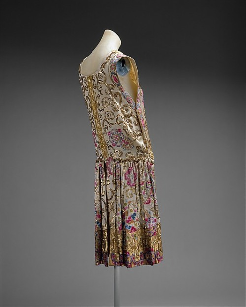 Evening Dress Jean Patou, 1927 The Metropolitan Museum of Art
