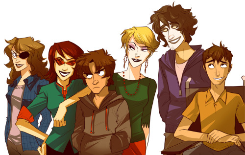 nadiezda:  Humanstuck once again in color!