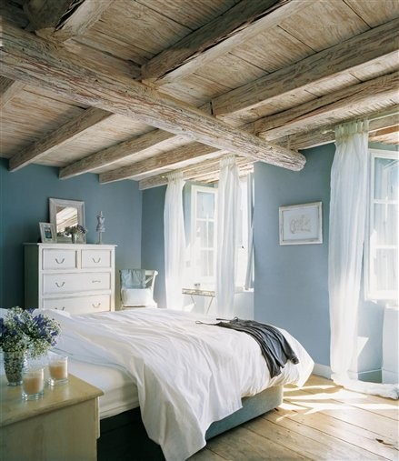 tiffany blue and rustic: beautiful and serene