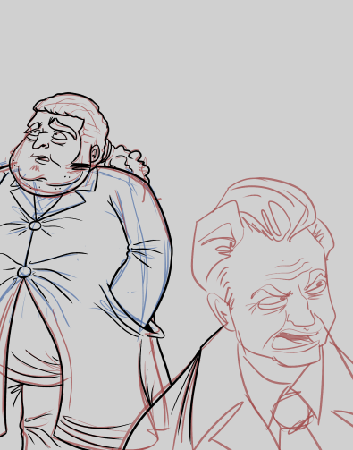 Here's a preview of the next HijiNKS ENSUE comic. I missed drawing Hurley.