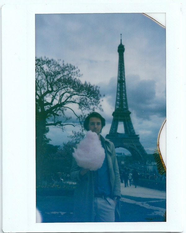 Me, Barbe à Papa and the Eiffel Tower.