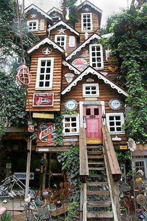 adorable treehouse