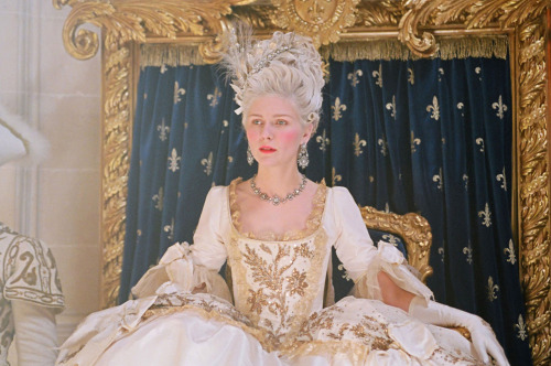 Coronation gown from the 2006 film Marie Antoinette - designed by Milena Canonero