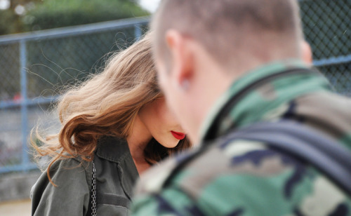 rougereveries:  Tommy Ton - Street Style Focus on the red lips…