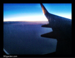 Flew in loving the sunrise yesterday to Miami from #ohio #tpie12