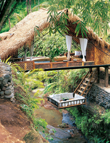 bluepueblo:  Treehouse Spa, Bali photo via  besttravelphotos