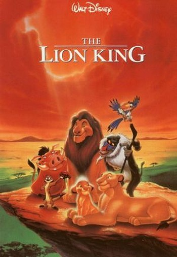 "The Lion King Watch Time: 40 minutes ""Everything about this movie is funny. There are hyenas and lions and baby lions. The hyenas live in big houses made out of big 'ol stumps and horns and stuff. They are so funny. And a warthog sings ""Aweemaway"" with a meerkat."""