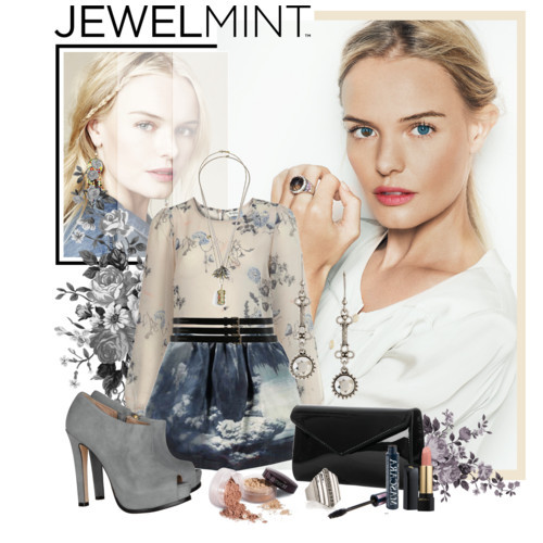 JEWELMINT CONTEST 1 by fildarina featuring a sheer shirt