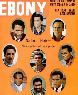 ebonymag:  Black Men and Natural Hair. December 1967.