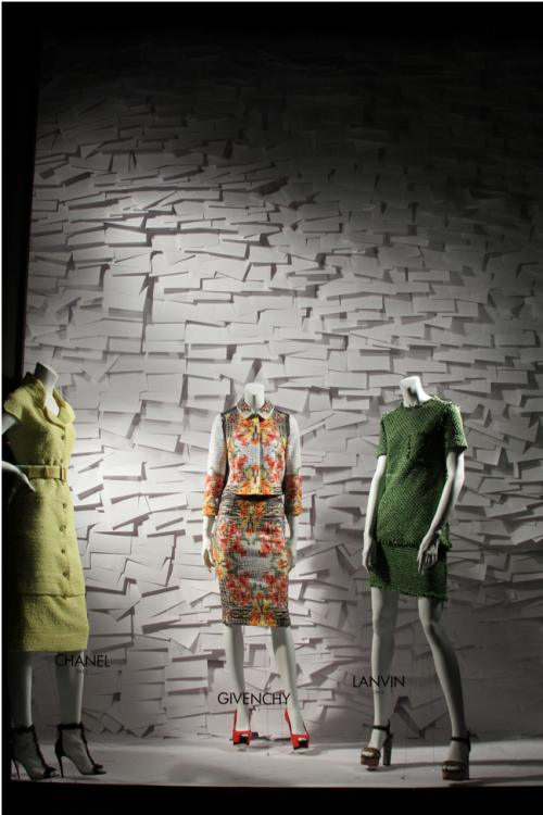 The Bergdorf Goodman windows right now are flawless, you should drool over the great Cruise pieces and let that Givenchy print take you there. xx