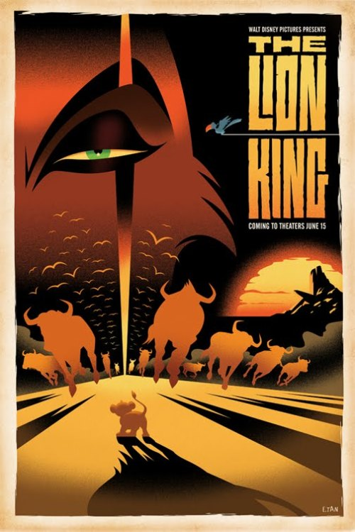 thisshitistight:  Lion King Poster (via VecTips)