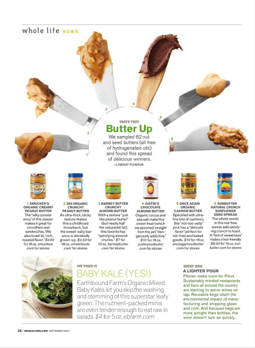 nutritiousnomz:  Nut butter is love.