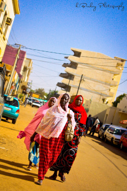The Streets of Niamey Niger 2012