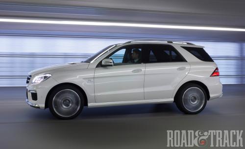 The Mercedes-Benz ML63 AMG is one of a handful of highly competent, high-performance, luxury SUVs that can handle any weather or social situation. Now it's even faster, fuel efficient and pleasing to the eye. (Source: Road & Track)