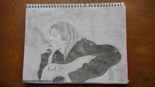 Kurt Cobain Sketch