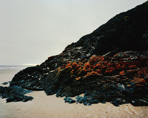 Three Cliffs Bay (Fallen Horse), Glamorgan, 2008 from What lies beneath the surface Guy Sargent