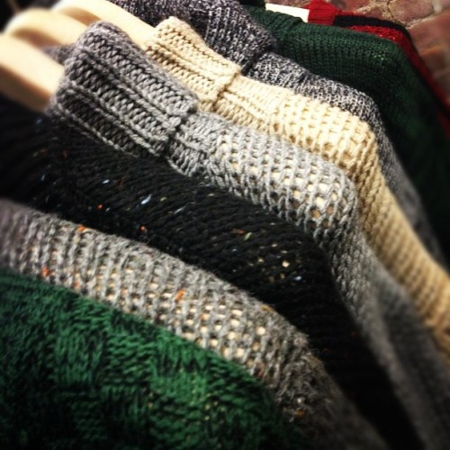 oncewheniwas:  Love the knits and palette at Tovar @722figueroa #projectshowny  (Taken with instagram)