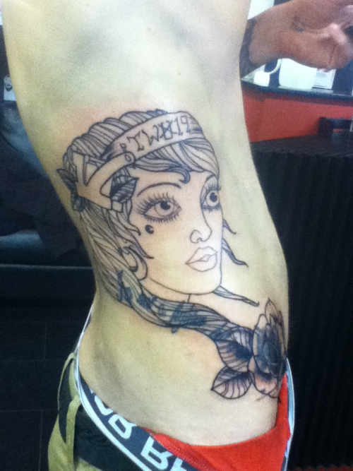 Start of a coverup on the shop manager