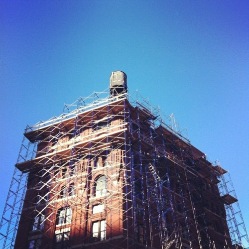 allieleepsonphoto:  #tribeca #nyc (Taken with instagram)