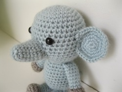 - amigurumi - oliver the elephant!