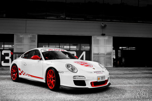 Porsche GT3 RS mkII by Alexis Goure on Flickr.