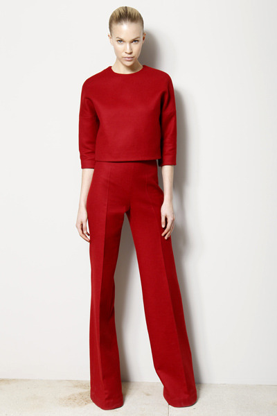 Giambattista Valli Pre-Fall 2012 gives us another excuse to go head-to-toe red.