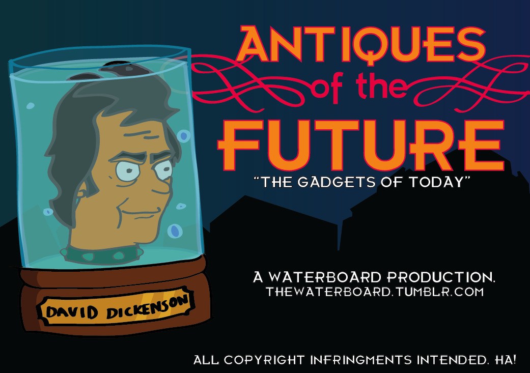 ANTIQUES of the FUTURE.