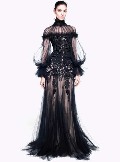 Alexander McQueen pre-Fall 2012 collection.