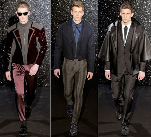 First Look: Mugler Fall 2012 See the full Mugler Fall 2012 men's collection from Paris right now at GQ.com.