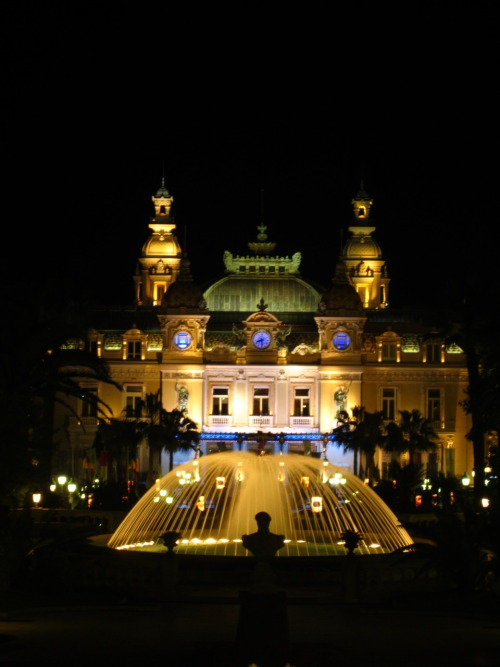 Casino, Monte Carlo, Monaco (with different camera settings)