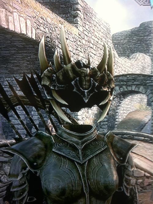 Jagged Crown + Krosis Mask = Facelessness