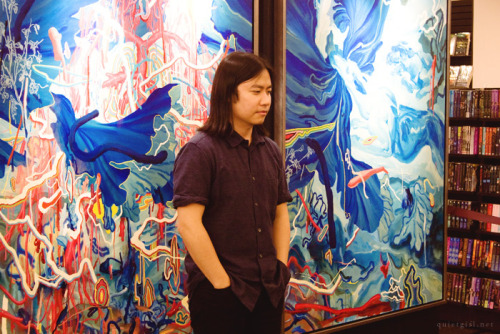 I was able to interview James Jean in Manila.Here's my blog entry about it.