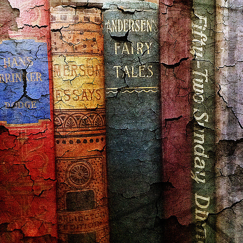 amarauderinrye:  Old Books (by vintage findings)