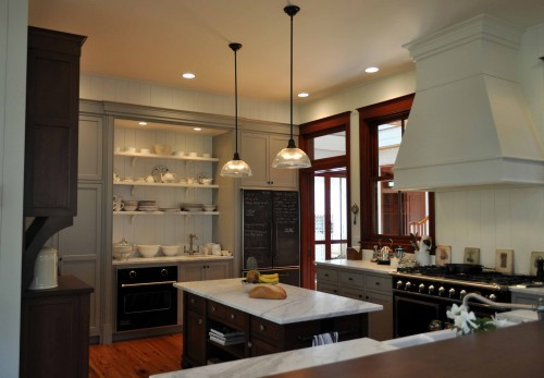 georgianadesign:  Traditional kitchen with good choices. Charleston, SC. Frederick + Frederick Architects.