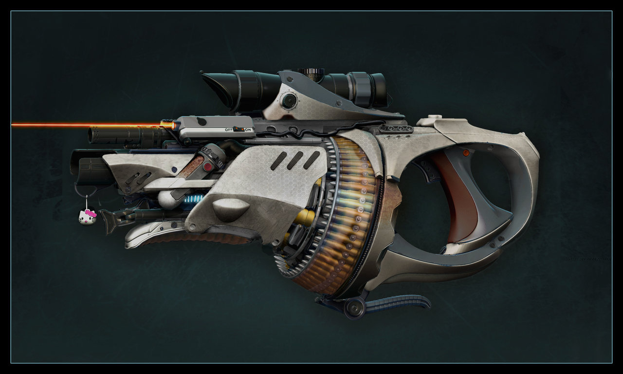 Gun with Nade Launcher by ~Pynion