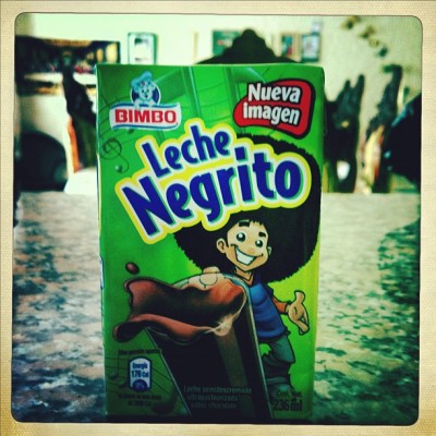 Racist Mexican milk products (Taken with instagram )