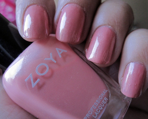 Zoya Cassi. I think this is the perfect peach polish!