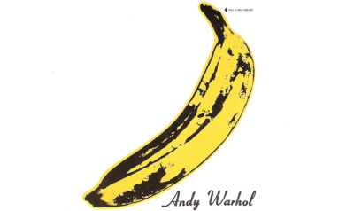 The Velvet Underground (Lou Reed and John Cale) filed a complaint against he Andy Warhol Foundation for infringement of the trademark of their 1967 album cover…see banana above. -artinfo