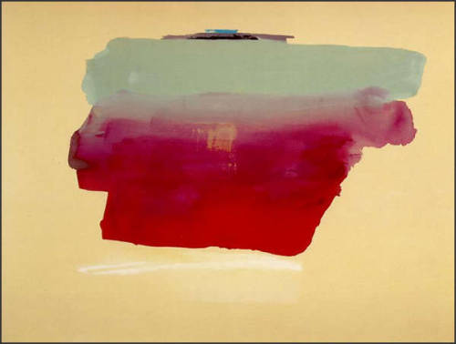 hanselfrombasel:  hansel's inspiration of the day: helen frankenthaler, a woman who needs no introduction. frankenthaler's abstract expressionist pieces are both beautiful and bold. a definite inspiration for the upcoming fall 2012 collection! *hansel
